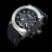 STEELIO® Überspeed Retrograde Chronograph (Steel-Black)