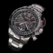 STEELIO® Überflight Retrograde Chronograph (Midnight Black)
