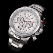 STEELIO® Überflight Retrograde Chronograph (Moon Silver)