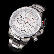 STEELIO® Überflight Retrograde Chronograph (Classic White)